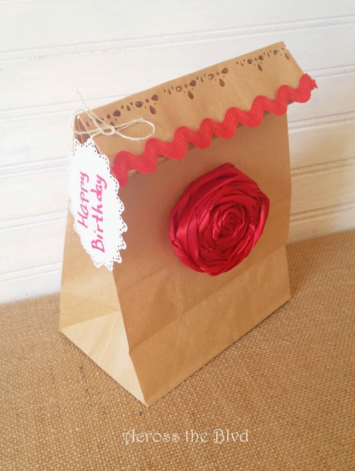 Brown Paper Bag Gift Bag