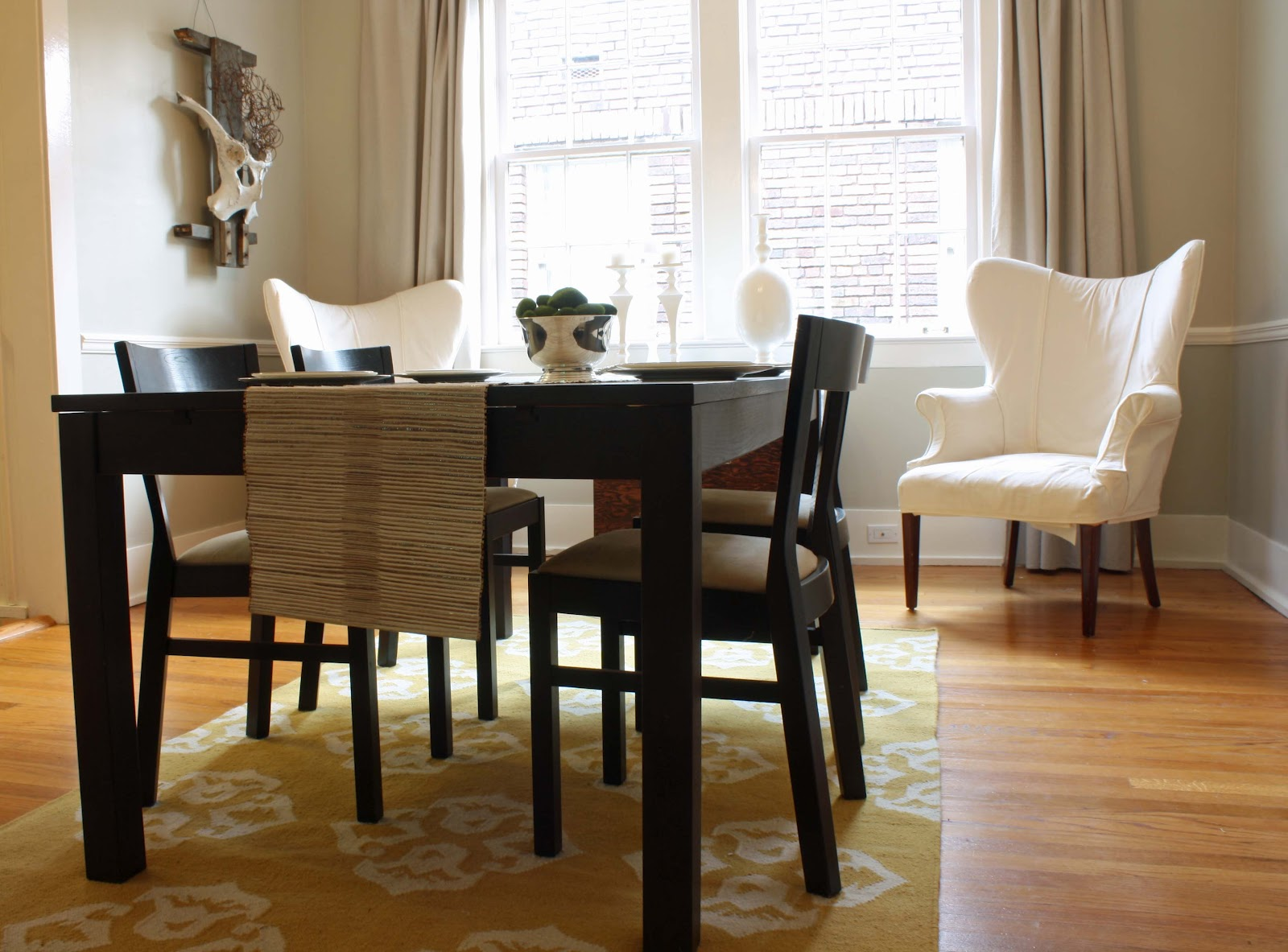 Fabulous Dining Room Awhile Back Including Our Previous Table Ikea Us Bjursta In Brown Black