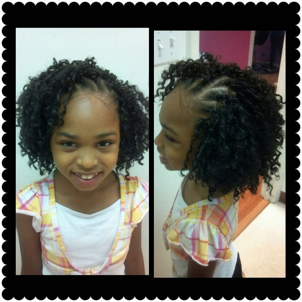 Crochet Hairstyles For Kids : The Crochet Latch Hook Braids are removedby simply unbraiding your ...
