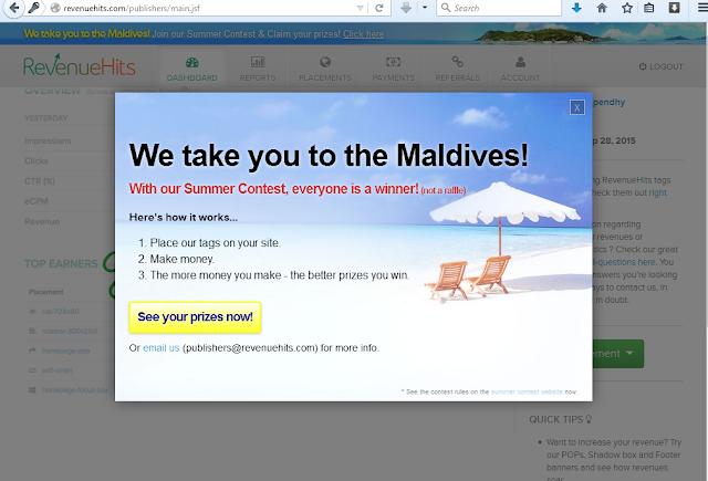 revenuehits alternatif dapet penghasilan selain google adsense