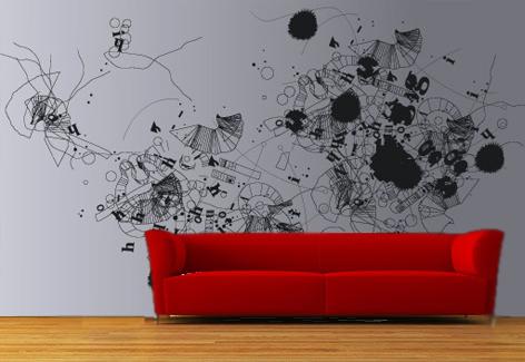 Decopared te damos ideas para decorar cualquier espacio - Murales de pared pintados a mano ...
