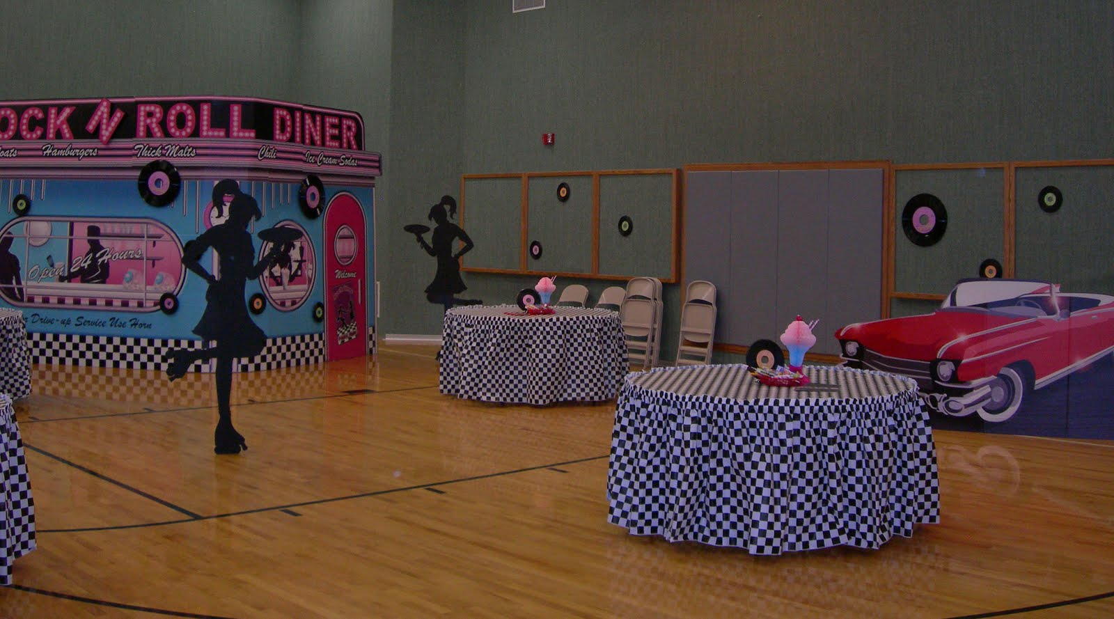 Sweeten your day events the fab 50 39 s for 50 s theme decoration ideas