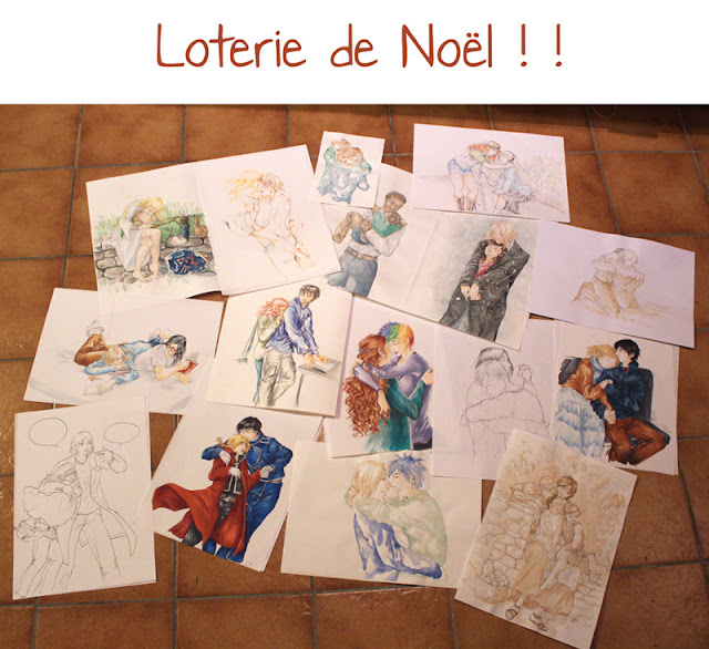 dessins calendrier de tendresses - Loterie