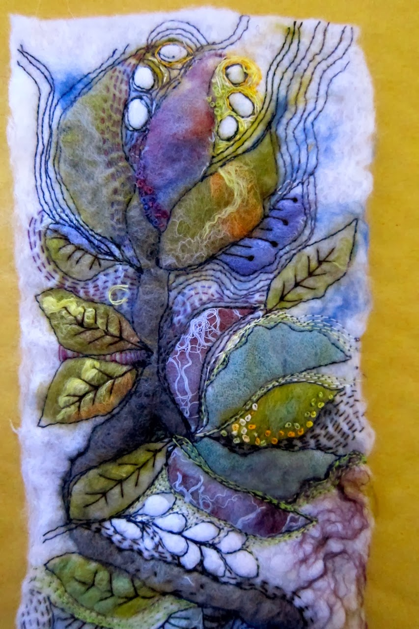 Needlework On Pinterest  Textile Art Embroidery And