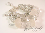 Variations on Crystal Quartz Bracelet