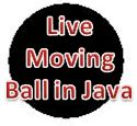Java program applet ball animated bouncing ball