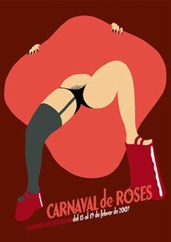 Cartell de Carnaval - Roses 2007