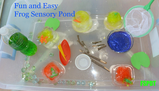 DIY Sensory pond