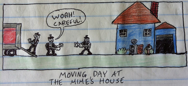 moving day for mimes