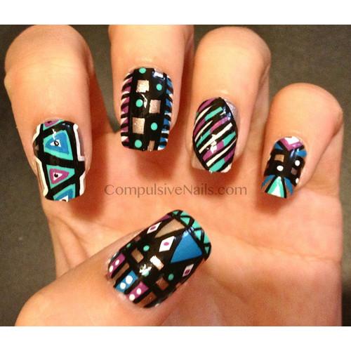 nail and art Ideias de Arte para Unhas
