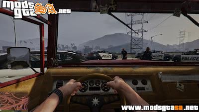 V - Mod Não Mostrar Polícia no Radar para GTA V PC