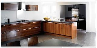 Cozinhas planejadas com móveis de madeira