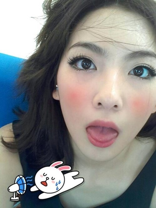 Jiyoung Red Cheek