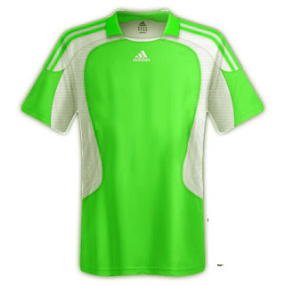 Desain kaos sepakbola warna hijau - exnim.com