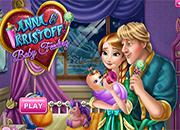 Frozen Anna y Kristoff Baby