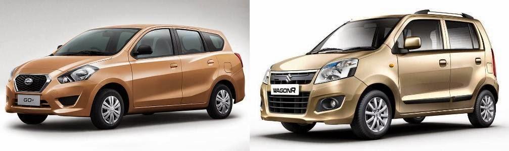 Datsun Go Plus vs Swift, Go+ vs Elite i20, Go+ vs WagonR ...