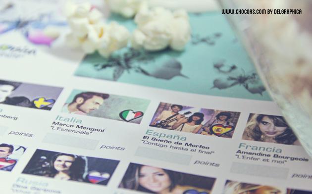 eurovisión 2013 - printable / imprimible