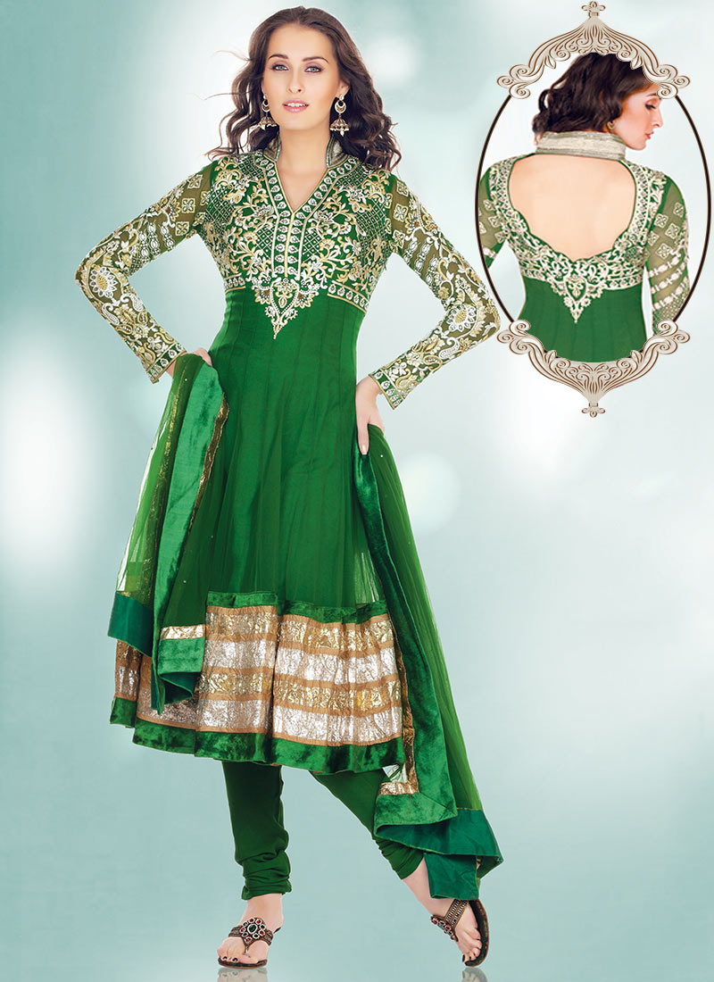 long anarkali dresses 2013