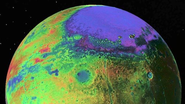 Puede haber vida en el océano subterráneo de Plutón