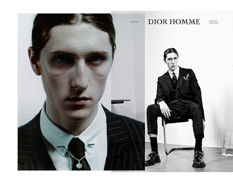Dior Homme FW14 'Notes Of A Day' by Willy Vanderperre