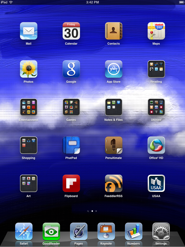 Art of mikejl ipad background for Best home screen wallpaper for ipad