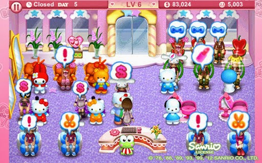 Hello Kitty Beauty Salon Terbaru