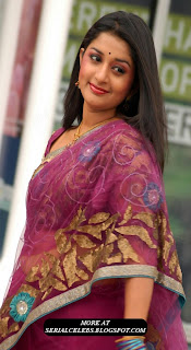 Meera Jasmine in pink saree