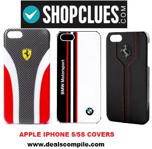 Apple iPhone 5/5S Cases for Rs.1