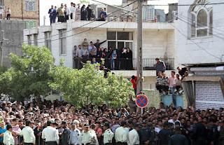 Executions in Mashhad, Iran, May 27, 2015