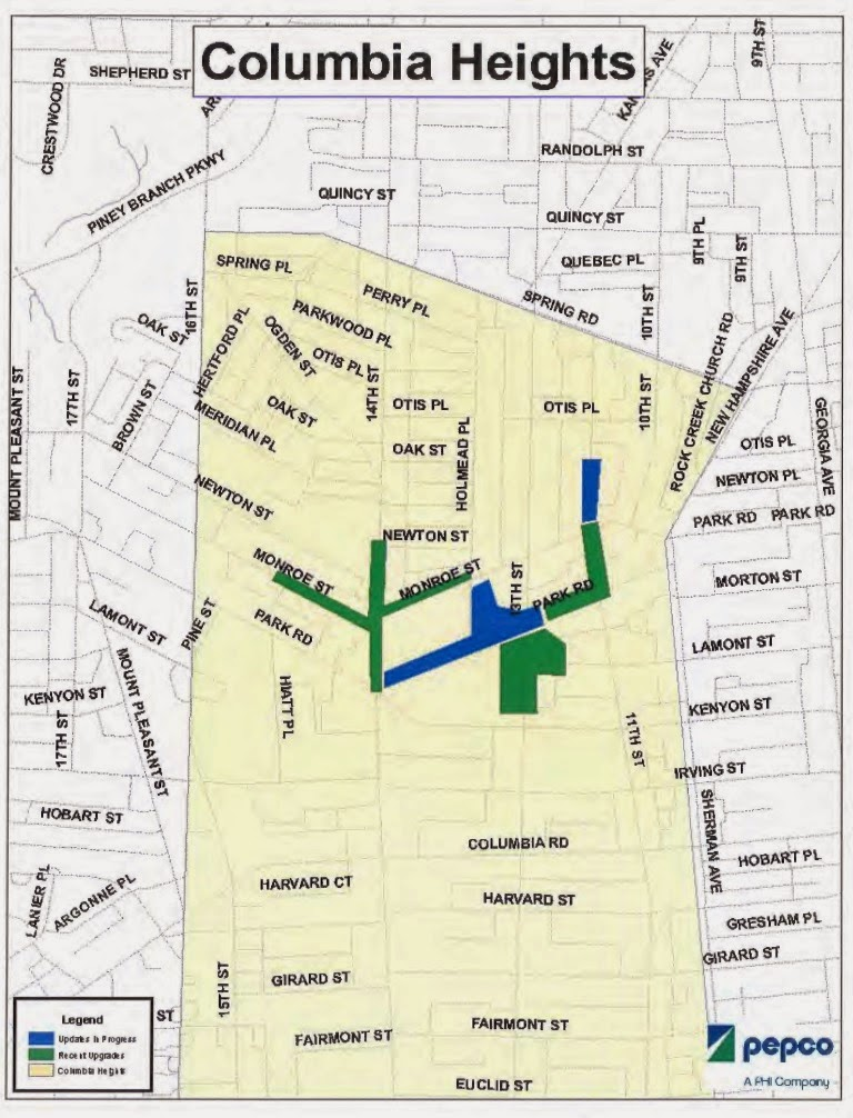 New Columbia Heights Pepco Meets With The Community About