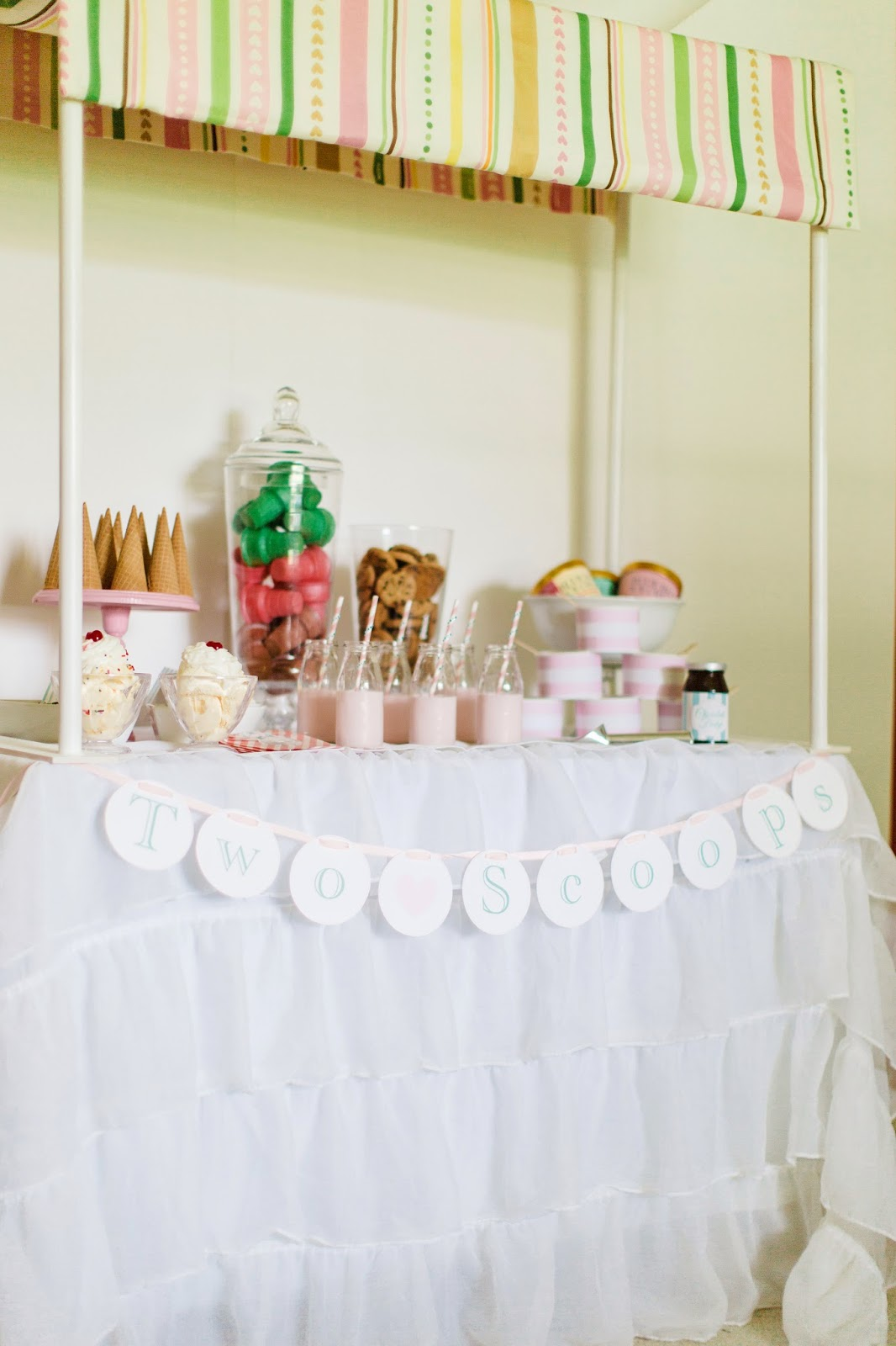 two scoops styled baby shower jacksonville wedding event planner