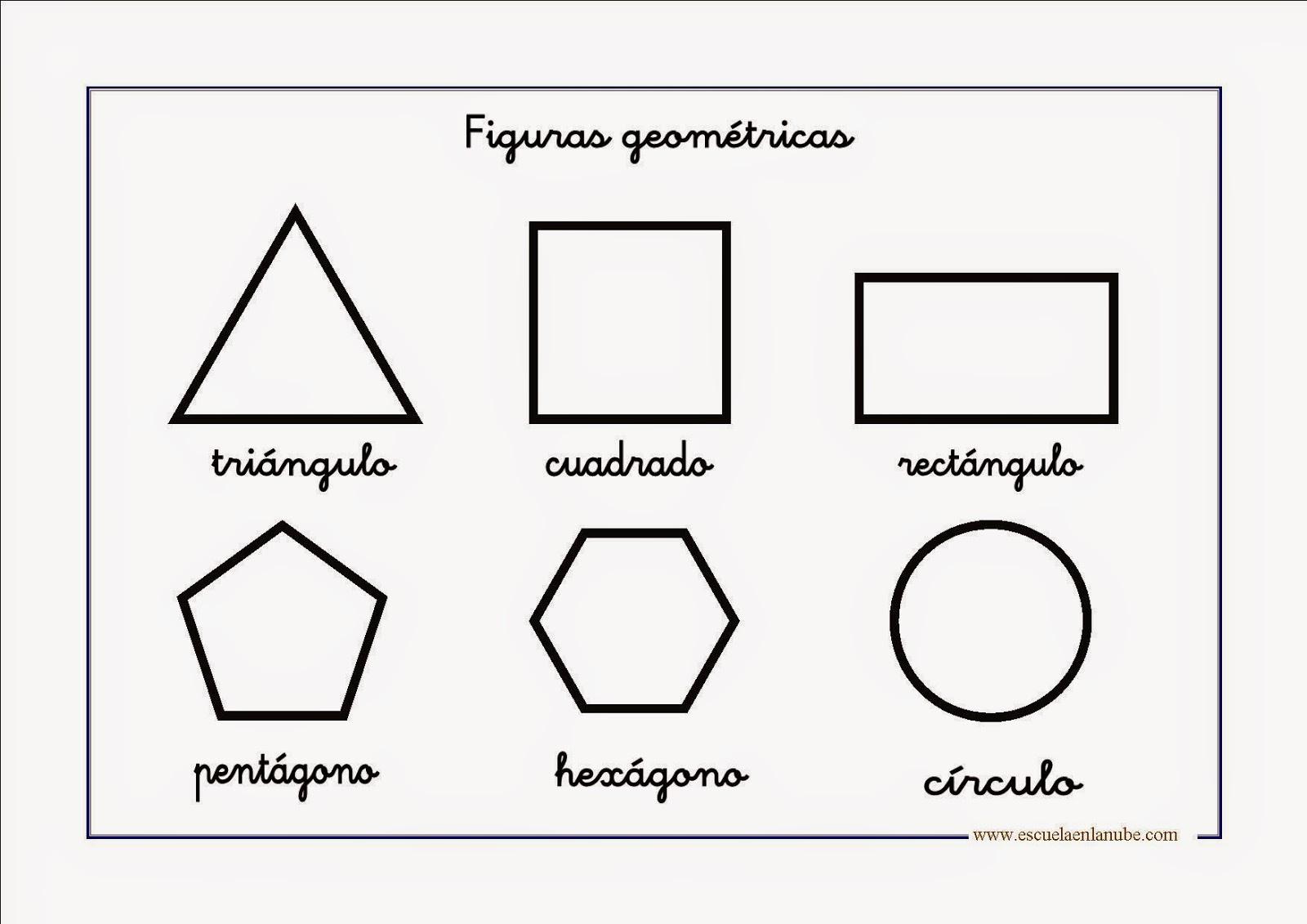 Figuras geometricas para imprimir colorear y recortar for Las formas geometricas