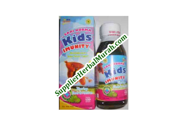 Sari Kurma Kids Imunity (+ Meniran + Habbatussauda Oil + Zaitun)