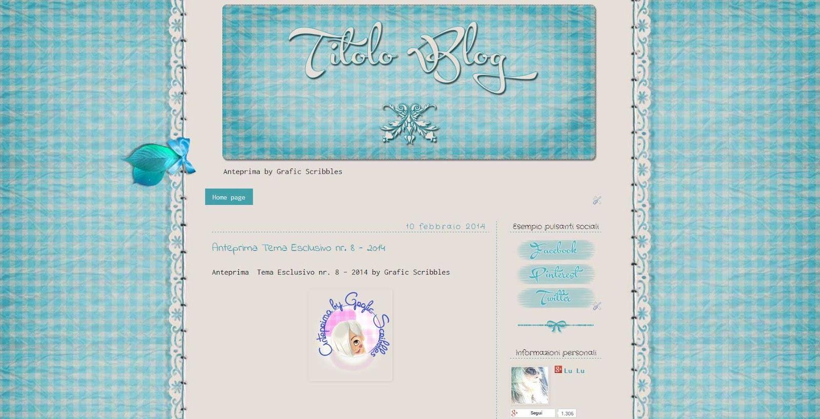 Grafica per il blog
