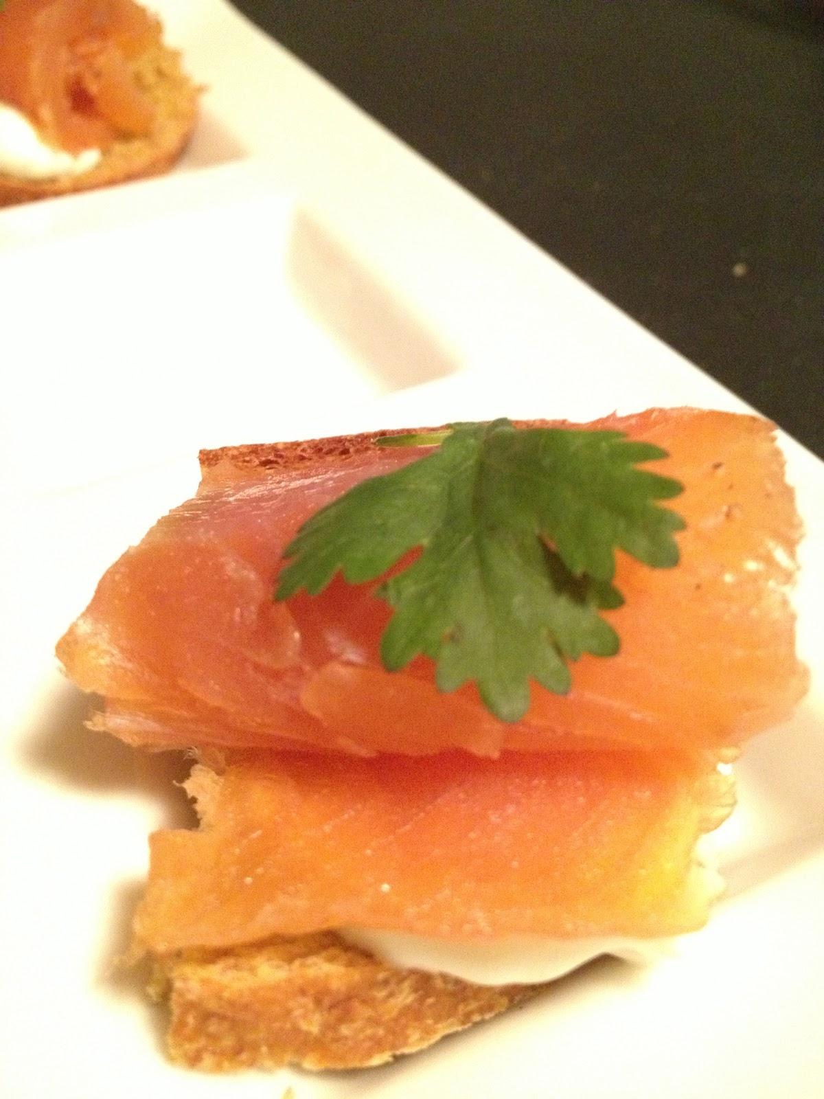 My macaroni pie almonte riverside kitchen almonte ontario for Smoked trout canape