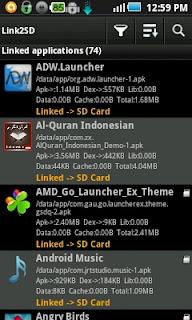 Cara Menggunakan Aplikasi Link2SD Pada Android