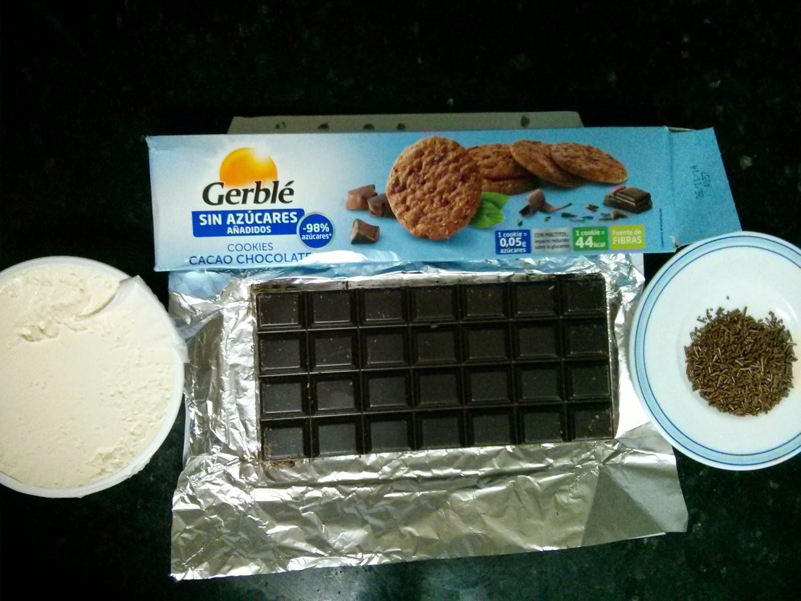 Trufas de cookies para diabéticos