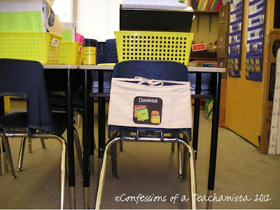 Confessions Of A Teachanista Chair Pocket Project Part 2