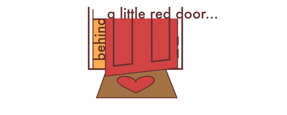 Behind the Little Red Door
