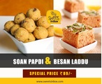 Pack of Soan Papdi & Besan Laddu