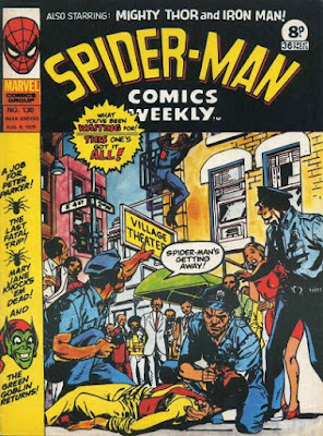 Spider-Man Comics Weekly #130