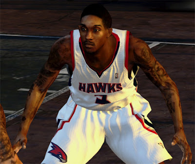 NBA 2K13 Louis Williams Cyber Face Patch