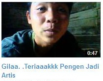 "Video ""Ferdy Ingin Jadi Artis"" Banjir Hujatan Di Youtube"