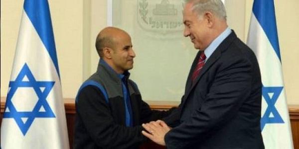 خروج الجاسوس الاسرائيلى عودة ترابين بعد سجنه 15عاما فى مصر