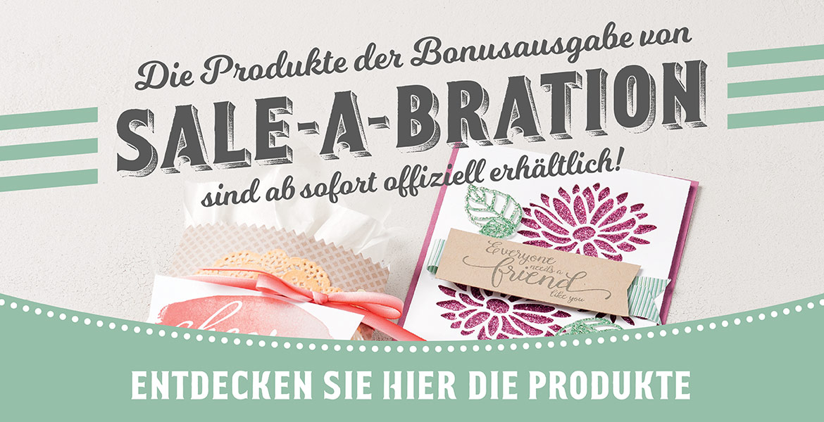 Zweite Runde Sale-a-Bration