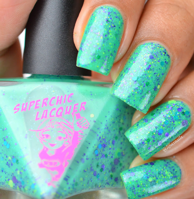 Superchic Lacquer Monsters in my closet