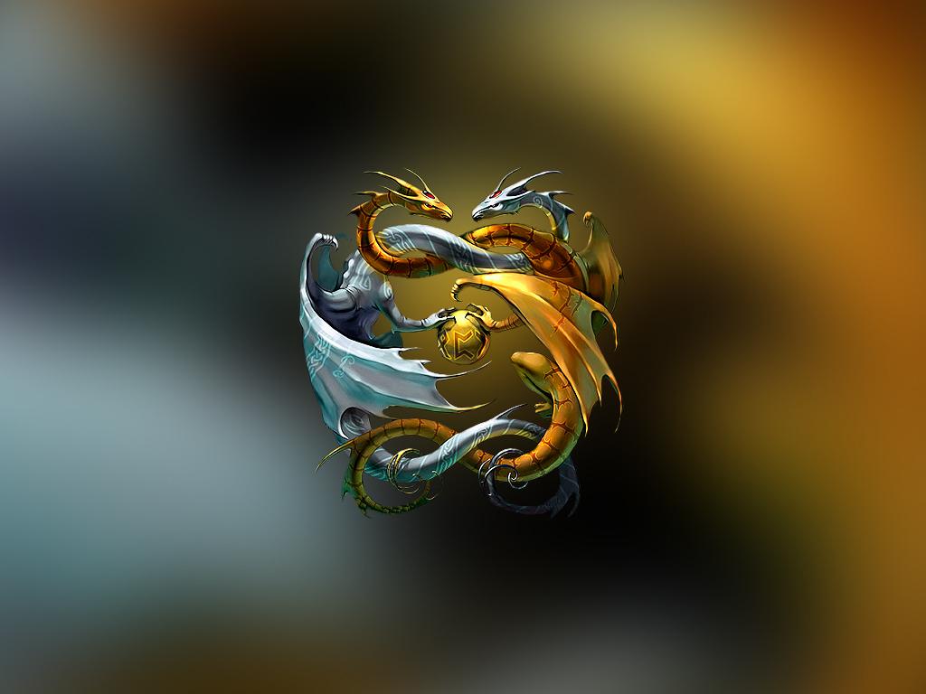 Koleksi Wallpaper Yin Yang Dragon Download Kumpulan Wallpaper Hp