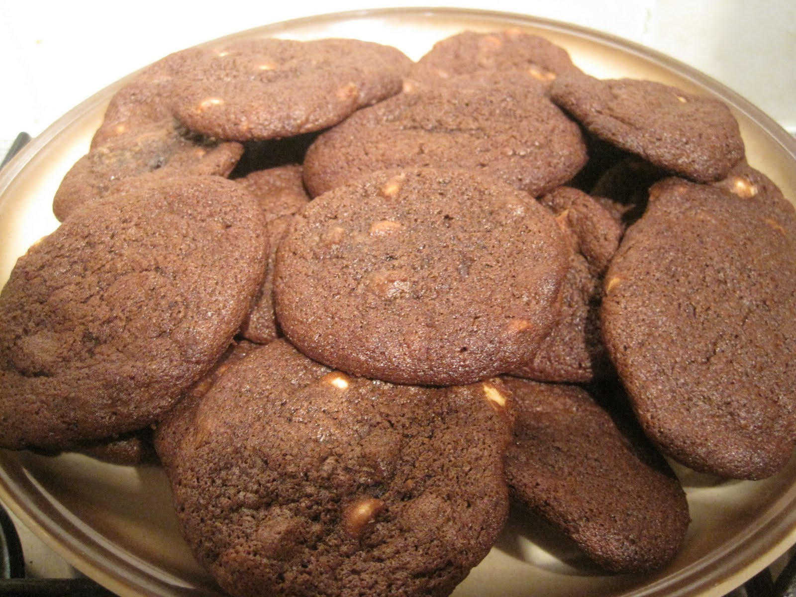 the white cat baker squidgy double chocolate cookies recipe