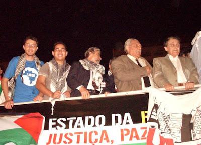 Ato histórico em São Paulo pelo Estado da Palestina Já - foto 56