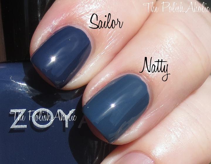 Zoya Natty Vs Sailor The PolishAholic: Fall...